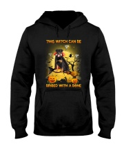 Rottweiler Bribe me with a bone Hooded Sweatshirt thumbnail