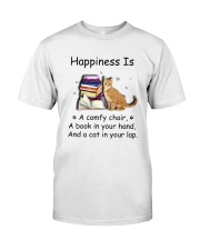 Cat Hapiness Classic T-Shirt tile