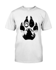 Wolf Pawprint Classic T-Shirt front