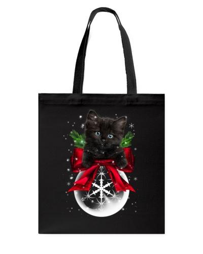 Black Cat Snow Ball