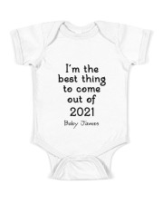 I'm The Best Thing TY2202214 Baby Onesie front