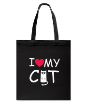I love my cat Tote Bag thumbnail