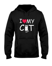 I love my cat Hooded Sweatshirt thumbnail