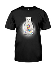 Polar Bear and Autism Classic T-Shirt front