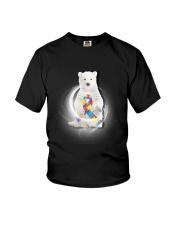 Polar Bear and Autism Youth T-Shirt thumbnail