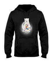 Polar Bear and Autism Hooded Sweatshirt thumbnail