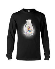 Polar Bear and Autism Long Sleeve Tee thumbnail