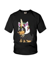 Doberman Pinscher Hat Youth T-Shirt thumbnail
