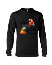 Bird Parrot Scream Long Sleeve Tee thumbnail