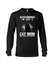 Black Cat Mom Long Sleeve Tee thumbnail