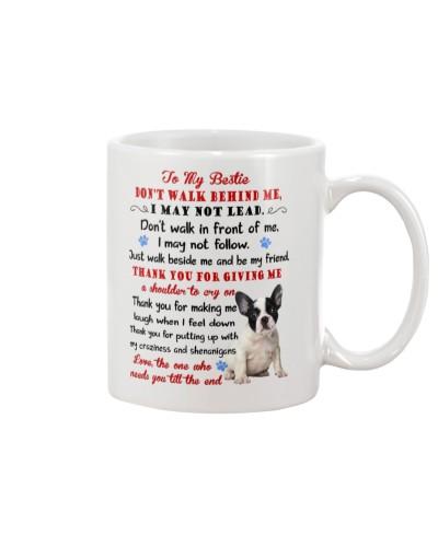 Dog - To my bestie - French Bulldog