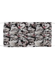 Siberian Husky Awesome H26821 Cloth face mask front