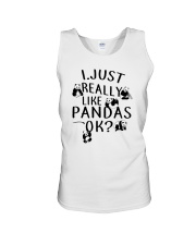 Like Panda  Unisex Tank thumbnail
