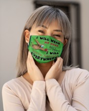 Sloth Everywhere T825 Cloth face mask aos-face-mask-lifestyle-17