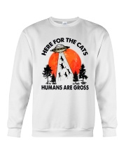 Here For Cats Crewneck Sweatshirt thumbnail