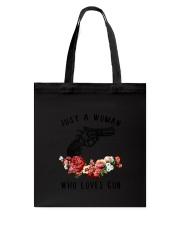 Loves Gun Tote Bag thumbnail
