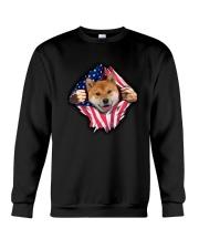 Shiba Inu Is My Power Crewneck Sweatshirt thumbnail