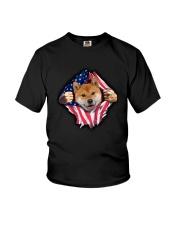 Shiba Inu Is My Power Youth T-Shirt thumbnail
