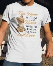 House Filled With Yorkshire Terrier Classic T-Shirt apparel-classic-tshirt-lifestyle-28