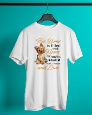 House Filled With Yorkshire Terrier Classic T-Shirt lifestyle-mens-crewneck-front-3