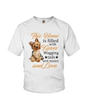 House Filled With Yorkshire Terrier Youth T-Shirt thumbnail