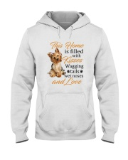 House Filled With Yorkshire Terrier Hooded Sweatshirt thumbnail