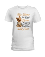 House Filled With Yorkshire Terrier Ladies T-Shirt thumbnail
