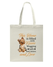 House Filled With Yorkshire Terrier Tote Bag thumbnail