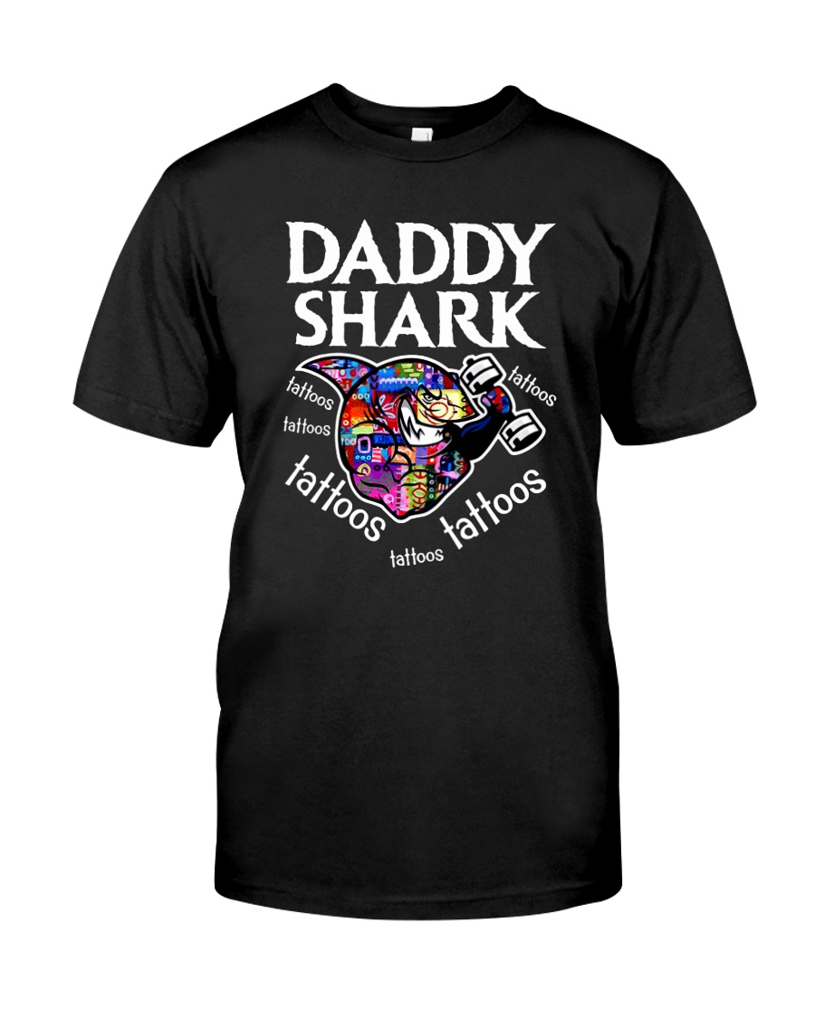 Daddy Shark Classic T-Shirt