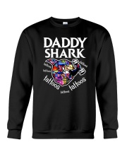 Daddy Shark Crewneck Sweatshirt thumbnail
