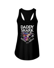 Daddy Shark Ladies Flowy Tank thumbnail