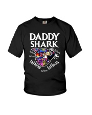 Daddy Shark Youth T-Shirt thumbnail