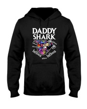 Daddy Shark Hooded Sweatshirt thumbnail