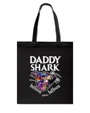 Daddy Shark Tote Bag thumbnail