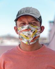 Kayak Tropical Vintage T825 Cloth face mask aos-face-mask-lifestyle-06
