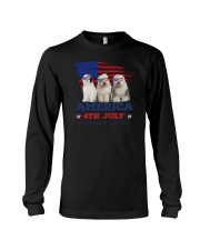 Old English Sheepdog America Long Sleeve Tee thumbnail