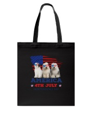 Old English Sheepdog America Tote Bag thumbnail