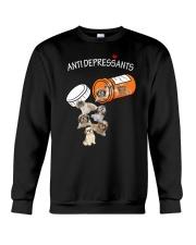 Shih Tzu Anti Crewneck Sweatshirt thumbnail