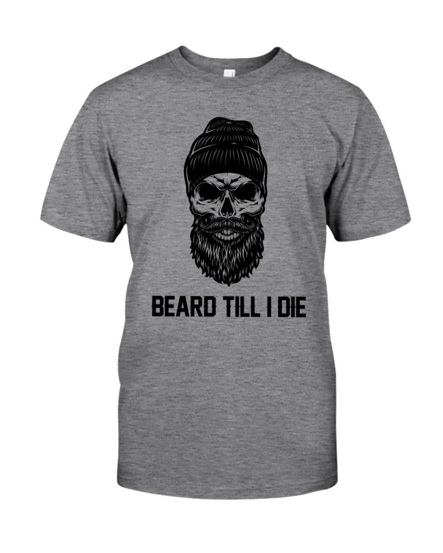 Beard Skull Classic T-Shirt