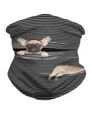 French Bulldog Striped T821  Neck Gaiter thumbnail