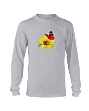 Butterfly - Never Give Up Long Sleeve Tee thumbnail