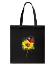 Butterfly - Never Give Up Tote Bag thumbnail