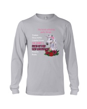 Unicorn - She loved collecting pretty things Long Sleeve Tee thumbnail