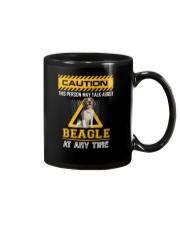 Warning Beagle Mug thumbnail