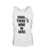 Wine In Here Unisex Tank thumbnail