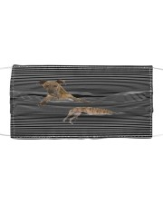 Greyhound Striped T821 Cloth face mask front