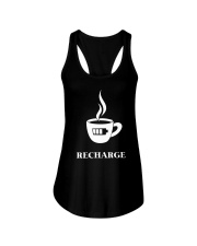 Coffee Recharge Ladies Flowy Tank thumbnail