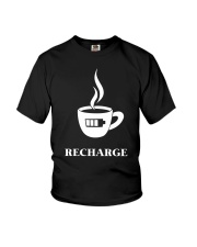 Coffee Recharge Youth T-Shirt thumbnail