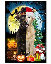 Labrador Retriever Two Sides 11x17 Poster front