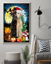 Labrador Retriever Two Sides 11x17 Poster lifestyle-poster-1